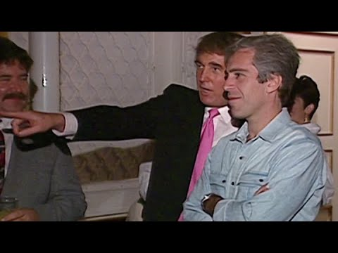 NBC archive footage shows Trump partying with Jeffrey Epstein in 1992