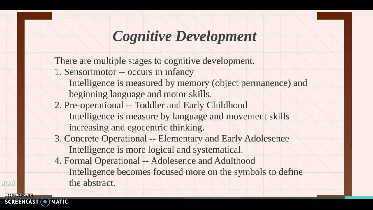 a report on cognitive development Toddler language development by month, how to promote talking, nurturing your little one's imagination, and more.