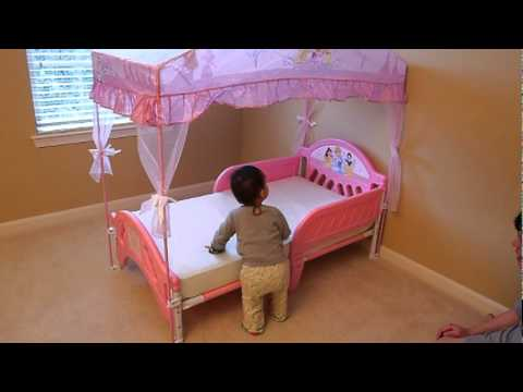character world toddler bed instructions