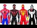 The Spiderman Toys Battle Venom Toy  Thanos Toy  and the Dinosaur Toys    LotsMoreToys