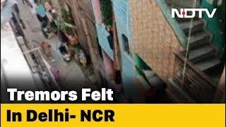 3.5 Earthquake Felt In Delhi, Neighbouring Areas