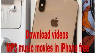 Download Any Videos And Mp3 Music Our Movies In Iphone Free