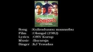 Kuliradunnu Manathu Karaoke