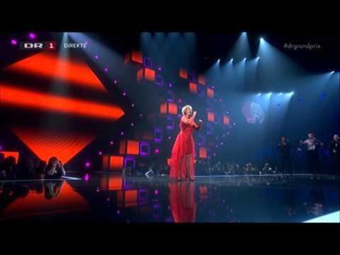 Kirsten & Søren, Rollo & King og Birthe Kjær i Dansk Melodi Grand Prix 2014