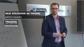 Moje spojrzenie na trading, Bartosz Zawadzki, #49 TJS 05.05.2016