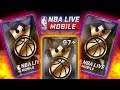 RIPPING 2 MORE KING OF THE COURT PACKS!!! 3.5 MILLION COIN PULL! NBA LIVE MOBILE PACK OPENING
