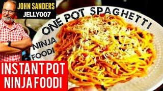 ONE POT SPAGHETTI INSTANT POT  NINJA FOODI pressure cooker pasta  the Spaghetti Deddy