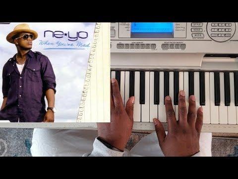 ne yo - when you're mad (piano tutorial) f# major