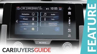 How to use Honda Connect  in the 2017 Honda Civic