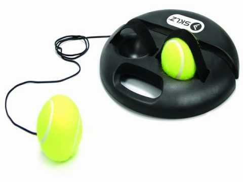 SKLZ PowerBase Tennis Trainer - YouTube 7e8965b93fa97