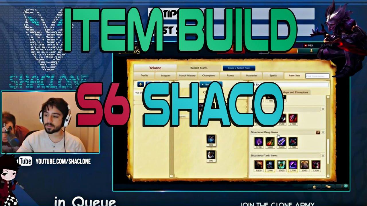 Shaco Build S7: AD Shaco Item Build Guide Season 6