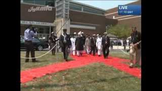 Flag Hoisting Jalsa Salana USA 2012 - Islam Ahmadiyya