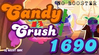Candy Crush Soda Saga Level 1690 ☆☆☆ Completed NO BOOSTER