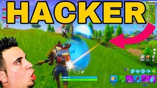 ✔️ YOU HAVE TO SEE IT // WE FIND A HACKER WITH AIMBOT // FORTNITE ✔️