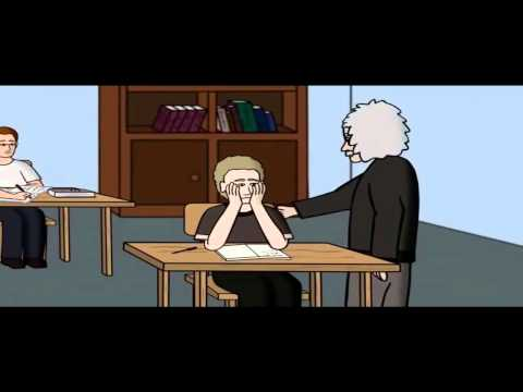 Albert Einstein Cartoon Animation
