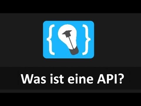 Was ist eine API?