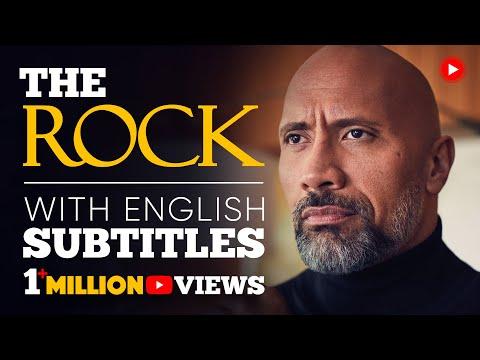 ENGLISH SPEECH   THE ROCK: Be Yourself (English Subtitles)