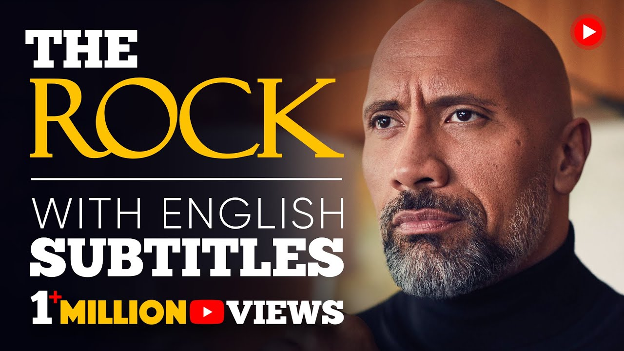 ENGLISH SPEECH | THE ROCK: Be Yourself (English Subtitles)