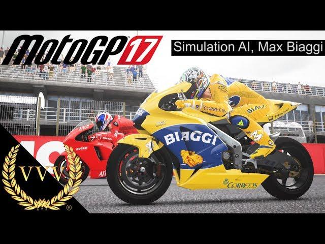 MotoGP 17 - Hardest AI, Max Biaggi 2004 Honda, Valencia