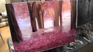 Уроки живописи для начинающих, художник Игорь Сахаров, курсы рисования в Москве