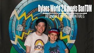 DYLANSWORLD2.0 MEETS DANTDM!!! - The Diamond Minecart USA Tour