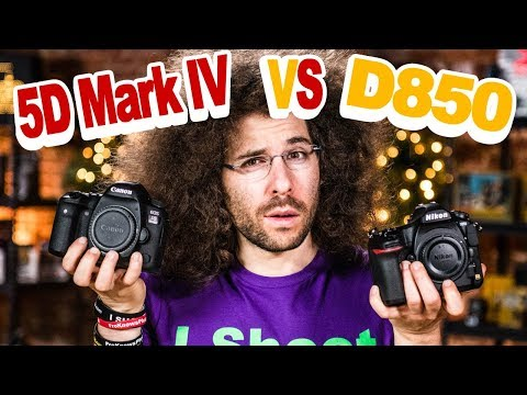Nikon D850 VS Canon 5D Mark IV Which To Buy: The ULTIMATE BATTLE