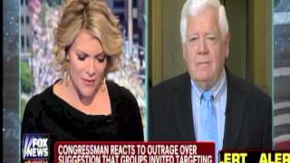 Congressman Jim McDermott reacts to Megyn Kelly