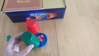 Perudo game - how to setup, play and review * Amass Games *