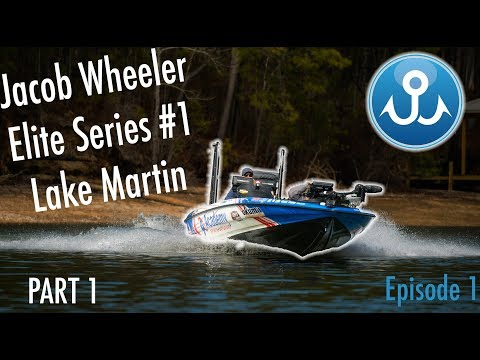 Lake Martin 1of2 | BASS Elite Series #1 | WheelerFishing Episode 1