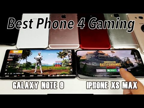 Best Mobile Phone for Gaming! iPhone XS Max vs Galaxy Note 9 | PUBG/Fortnite