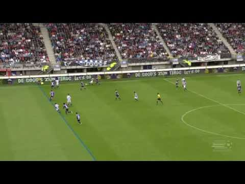 Oussama Assaidi with one of the nicest offside goals ever