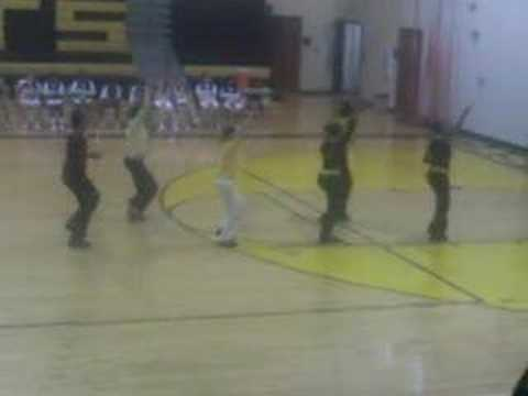 Castle Heights Middle School Step Team! Part 1