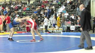 2013 Senior National Championships: 74 kg Chris Laverick vs. Kyle Horvath