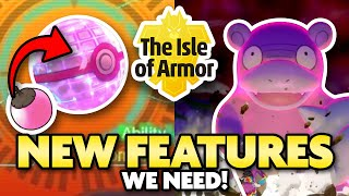 New Features that would make the Isle of Armor DLC a HUGE HIT! Everything from Pokeradar to a Rusted Bottle Cap and beyond! Subscribe for Daily Pokemon ...