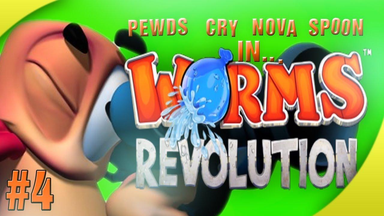 Worms Revolution (4) w/ Cry, Nova & Sp00n! Match 2