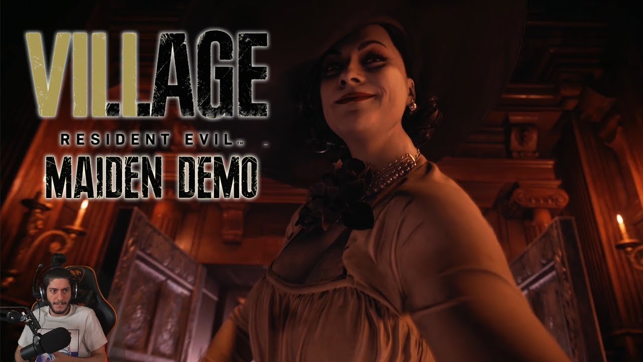 Resident Evil Village - The Maiden Demo w/ Cydonia - YouTube