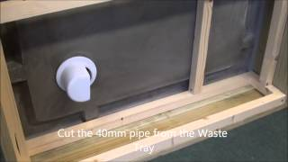 Building an outdoor dog toilet