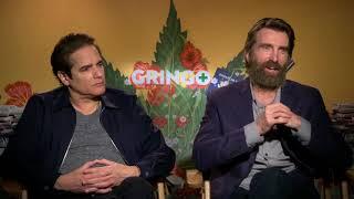 Gringo || Sharlto Copley And Yul Vazquez Generic Junket Interviews   || SocialNews.XYZ