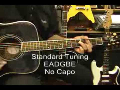 HAPPY Pharrell WilliamsGuitar Lesson How To Play No Capo On Guitar