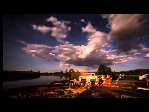 Timelapse - Camping at Warm Slough near Rexburg Id by billibilli Productions