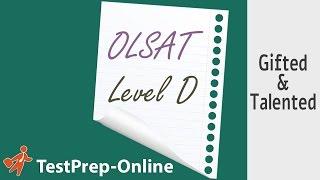 OLSAT Test Prep - 3rd Grade