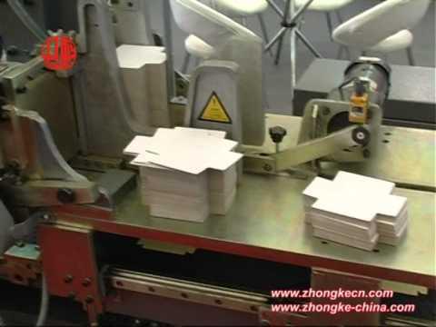 Автоматическая линия по производству коробок без проклейки углов ZK 320