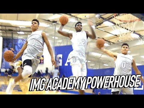 IMG Academy Players Dunking Like PROS! IMG SEASON OPENER v Farragut - HOW ARE THESE HIGH SCHOOLERS?!