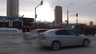 Шествие к месту проведения Митинга за Бойкот выборов