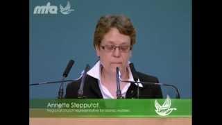 2012-06-09 Eine Rede von Frau Annette Stepputat auf der Jalsa Salana 2012