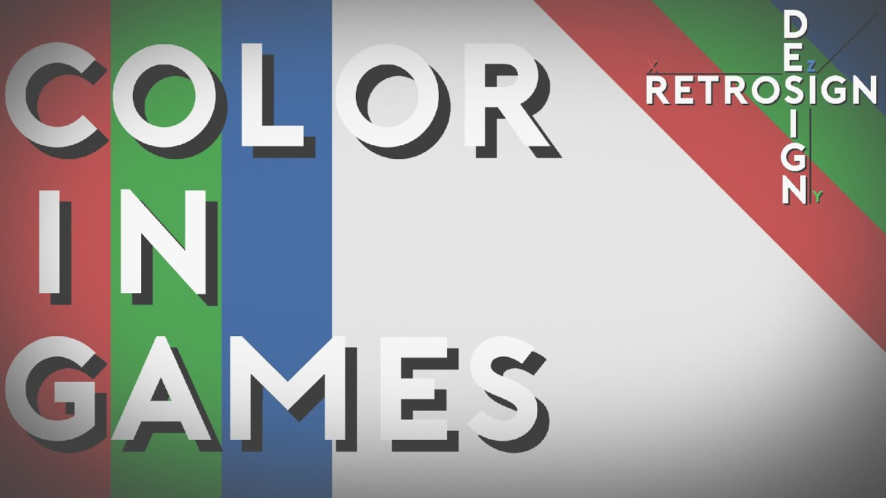 Using Color in Video Games | RetrOsign - YouTube