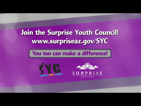 What is the Surprise Youth Council?