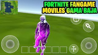 Fortnite Fangame Android Gama Baja *Skin Galaxy (Demo)*