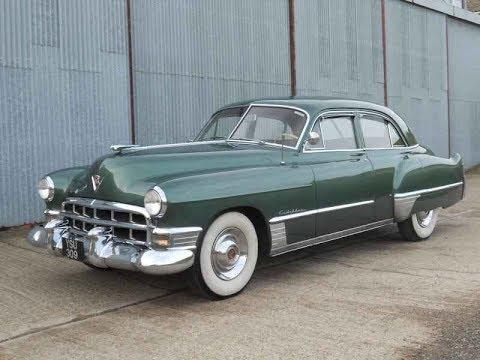 1949 Cadillac Series 62 Sedan Youtube