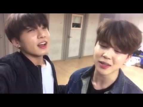 BTS 방탄소년단 Jungkook and Jimin Sings HOMME